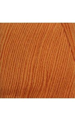 """Пряжа """"Афродита"""" 100гр. 250м, 50% шерсть, 50% акрил (05 оранжевый)"""