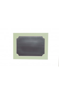 Гибкая магнитно-маркерная доска для холодильника, 33,5*25*2 см, зелёный