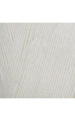 """Пряжа """"Афродита"""" 100гр. 250м,50% шерсть, 50% акрил (16 белый)"""