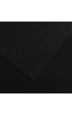 """Бумага цветная """"Iris Vivaldi"""", А4, 240 г/м2, №38 черный, 1 л"""