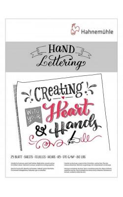 """Альбом-склейка для леттеринга """"Hahnemuhle"""" Hand Lettering, А5, 170 г/м2, 25 л"""