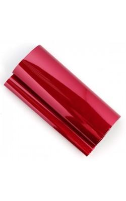 Поталь трансферная, 21*80 см, красный металлик