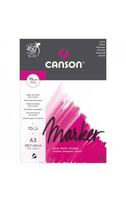 "Альбом для маркеров ""Canson"" Marker Layout, А3, 70 г/м2, экстра гладкая, 70 л"